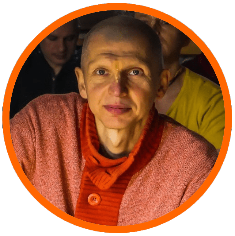 Руководитель брахмачари ашрама в Киеве - Бхайраватарджака дас